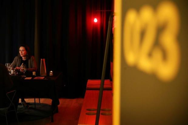The Qbic Hotel usually has 23 private dining rooms set up for a Saturday night service