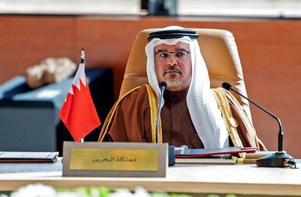 Bahrain's Crown Prince Salman bin Hamad Al-Khalifa  pictured here at a Gulf Cooperation Council...