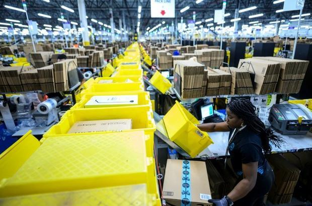 Amazon now counts more than 25 robotic centers like the one at Staten Island  which chief technologi...
