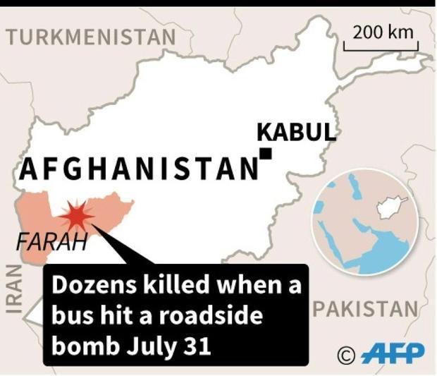 Afghanistan roadside bomb
