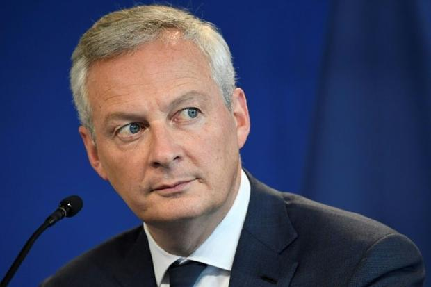 French Economy Minister Bruno Le Maire said protests and slowing economic growth led to decisions be...