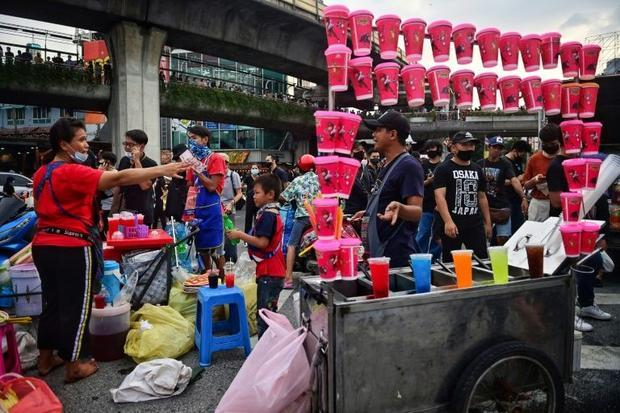 The bonanza is a blessing for many vendors as the coronavirus sends Thailand's economy into fre...