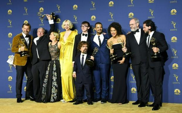 The 'Game of Thrones' cast  pictured in 2018  have picked up more than 20 Emmys nomination...
