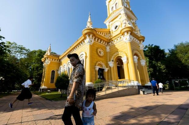 A Catholic holdout in a sea of Buddhist temples  the mission survived hardship  occasional hostility...