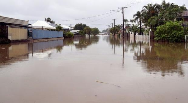 Australia: Floods have inundated thousands of homes and closed airports and schools  leaving cars an...