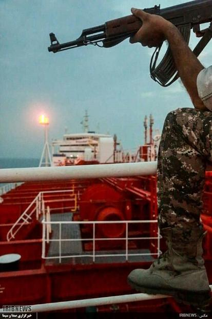 Iran's Revolutionary Guards seized the Stena Impero on Friday  surrounding it with attack boats...