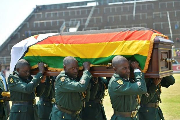 Mugabe died on a medical trip to Singapore and his body was returned to a state funeral