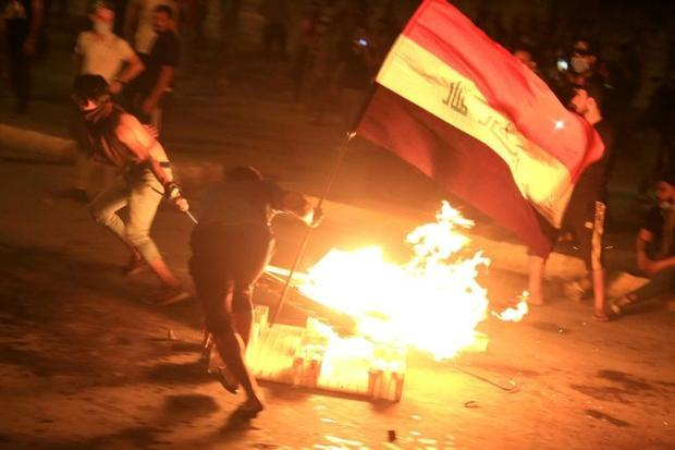 Anti-government protests in Iraq have sparked clashes  leaving more than 70 dead since Thursday