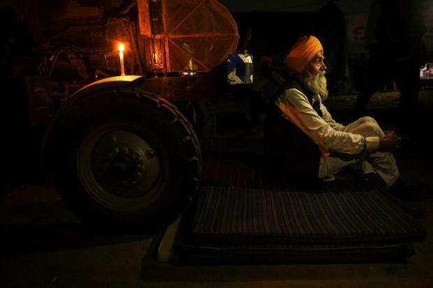 The blockade began when farmers marched from Punjab state towards India's capital New Delhi