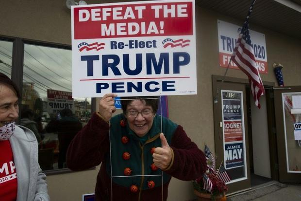 Punters piling on Donald Trump to win the presidential election prefer to glean their information fr...