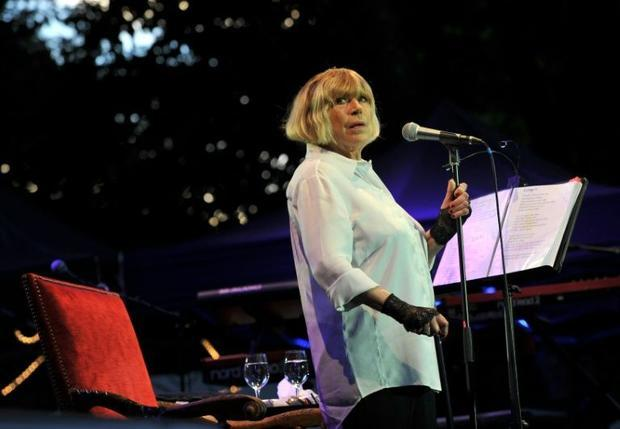 English singer Marianne Faithfull will perform  at the Bataclan  for the first time a song she wrote...