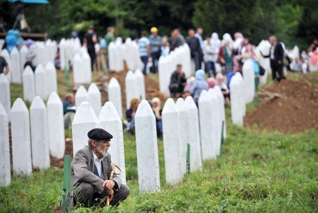 The 1995 Srebrenica 1995 massacre has beendeclared a genocide by two international courts