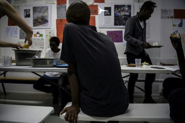 France received a record 100 000 asylum applications last year