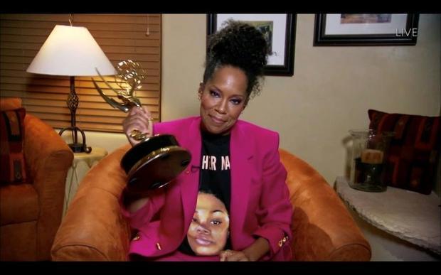 Regina King claimed her Emmy for