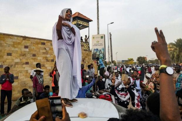 Ala Saleh has become a voice for women's rights in Sudan  where centuries of patriarchal tradit...