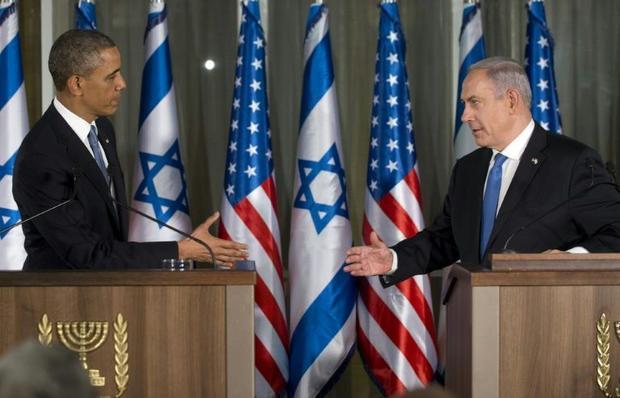 Israeli Prime Minister Benjamin Netanyahu had tense relations with US President Barack Obama -- Bide...