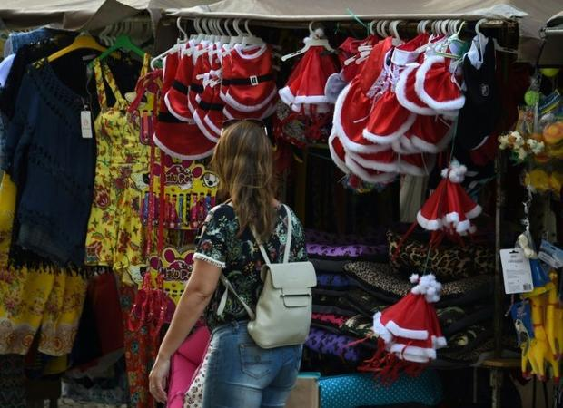 Things are so tight in Brazil's party city of Rio de Janeiro that would-be Santas are feeling m...