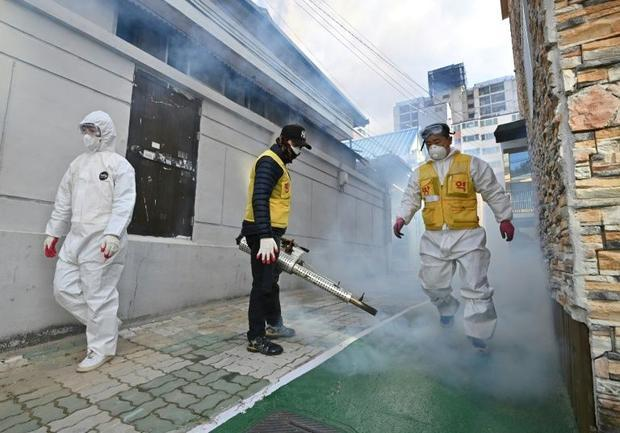 The spread of coronavirus in South Korean has been traced to the Shincheonji Church of Jesus in the ...