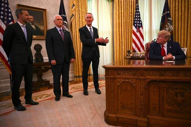 In the White House  officials including President Donald Trump and Vice President Mike Pence never w...