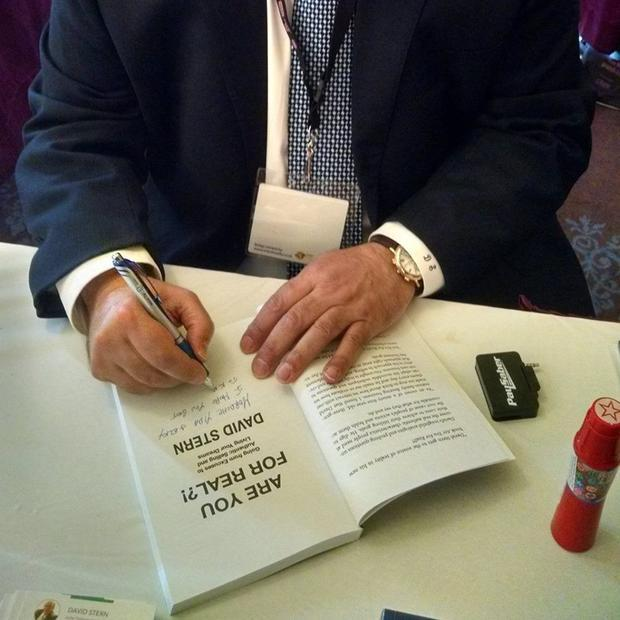 Are You For Real?!  highlights author/public speaker David Stern s more than 40 years in sales.