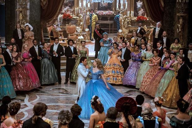 A scene from  Cinderella