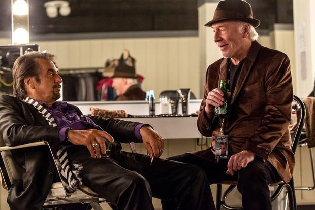 Al Pacino and Christopher Plummer in a scene from  Danny Collins