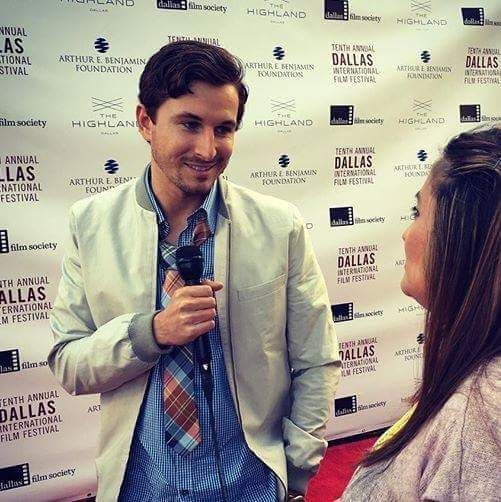 Colton at the Dallas International Film Festival - for  Three Days in August.
