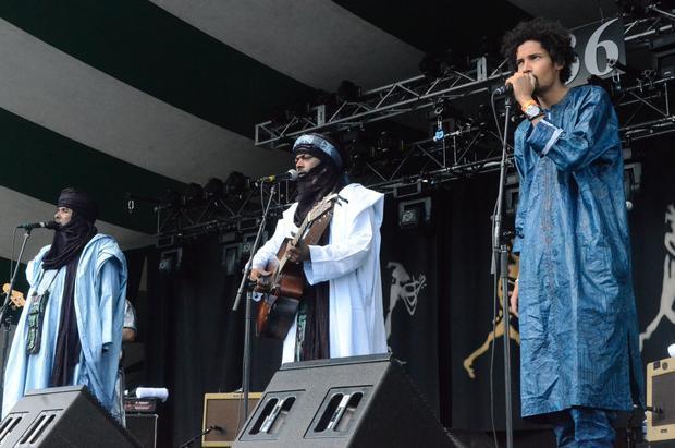 Tinariwen. Edmonton Folk Music Festival 2015.