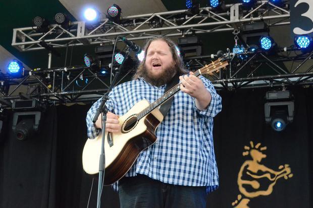 Matt Andersen. Edmonton Folk Music Festival 2015.