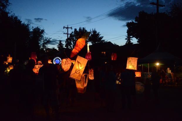 Lantern Parade. Edmonton Folk Music Festival 2015.