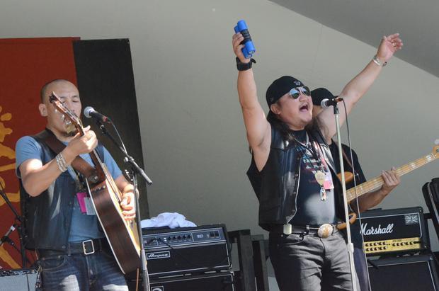 Hanggai. Edmonton Folk Music Festival 2015.