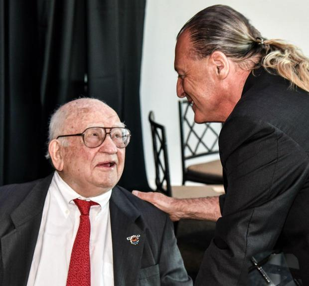 Ed Asner and Armand Assante