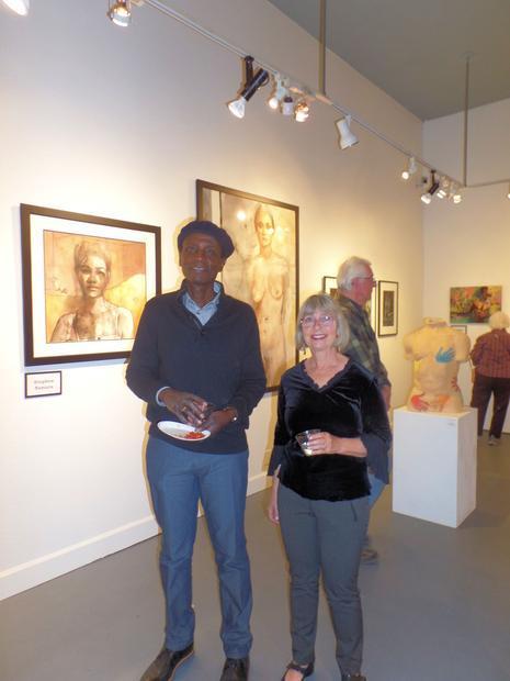 Artists Julie Marsh and Stephen Namara (originally from Kenya)  were among the six artists featured ...