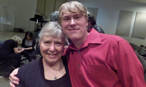 Kitty and Michael Neal of Forerunners Messianic Congregation in New Mexico show their support