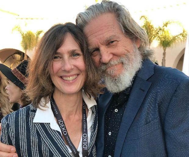 Director Susan Kucera and Jeff Bridges