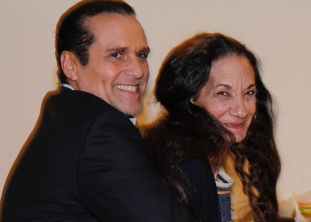 Maurice Benard and Donna Messina