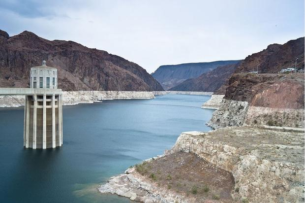 Lake Mead on April 13  2012. The reservoir was at 1 123.93 feet above sea level. On Wednesday  March...