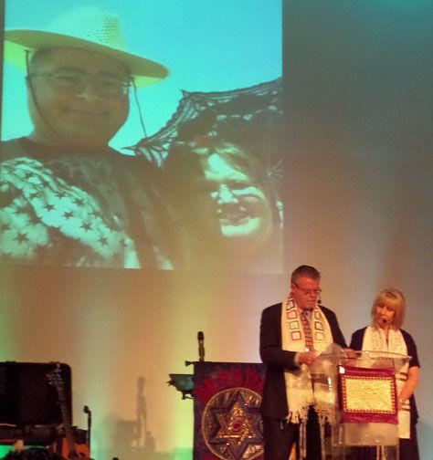 Nick and Jennifer Thalasinos  photos above Pastors Bruce and Kathleen Dowell