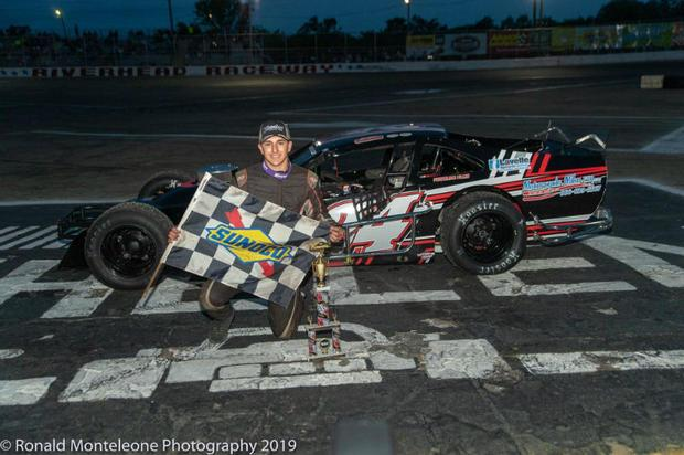 Racer Justin Brown of Manorville