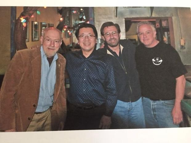 One of the many gatherings over the years.  of local media and radio personalities of the SF Bay Are...