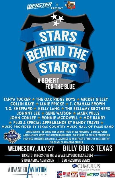 Stars Behind the Stars: A Benefit for the Blue