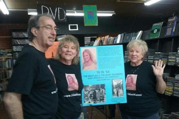 Marti Edwards and Joe Carroccio at Revolver Records promoting the book in Phoenix this past July of ...