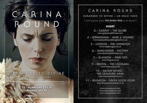 Carina Round: 2016 UK Tour Dates
