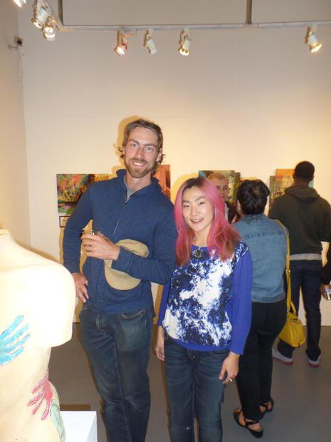 Tsungwei Moo was among the six artists spotlighted at the  A Passion For The Figure  exhibit. Seen h...