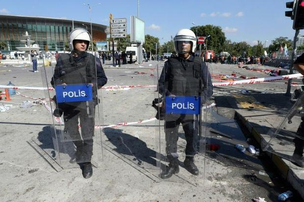 Turkey has been on a high security alert since October  when two suicide bombers blew themselves up ...