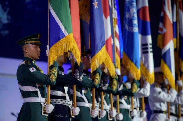 South Korea and a US-led UN coalition fought against the Chinese- and Soviet-backed North during the...