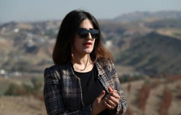 Rawanduzi hopes her project can make a change in the Kurdish zone