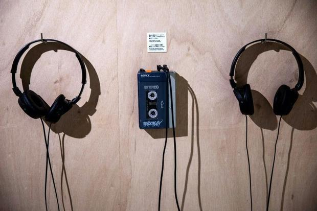 The TPS-L2 Walkman audio player  the first model to go on sale  had had two headset jacks -- labelle...