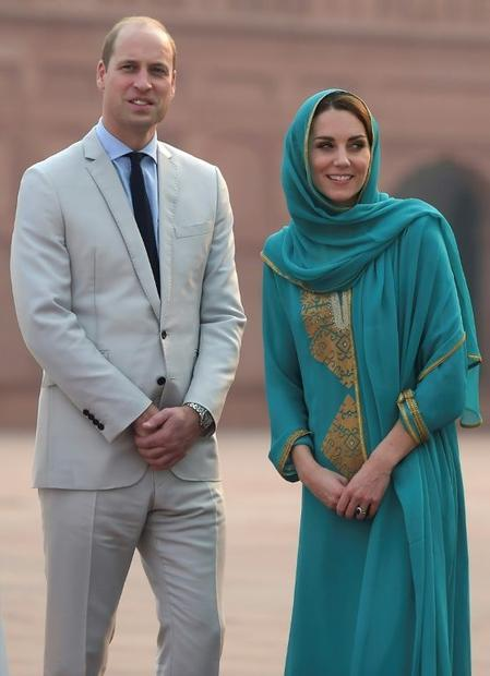 The royal couple have spent much of the trip promoting various causes  from girls' education to...