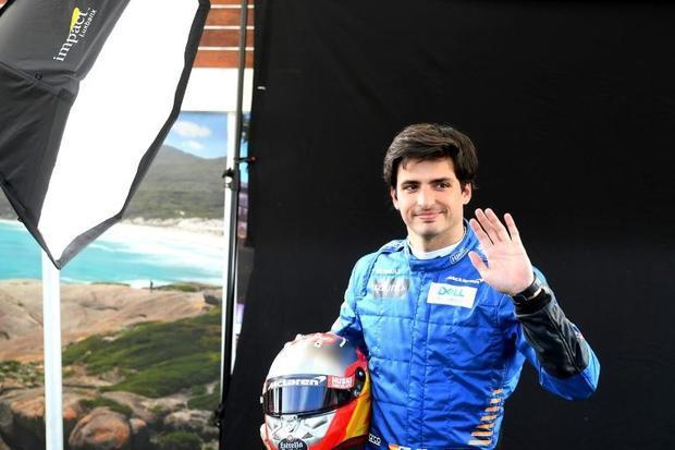 McLaren's Spanish driver Carlos Sainz Jr will not be racing at the Australian Grand Prix after ...